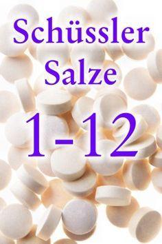Liste der 12 Schüssler Salze