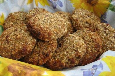 Овсяное печенье с курагой и клюквой : Вегетарианская и постная кухня