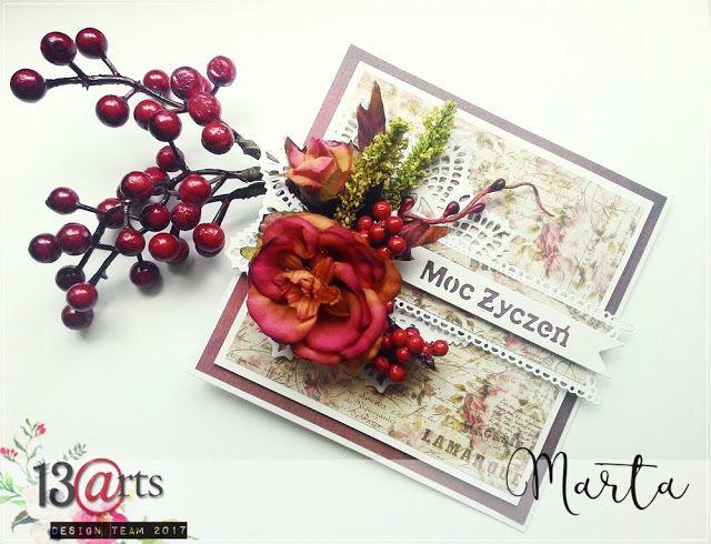 a card by Marta Debicka for 13arts