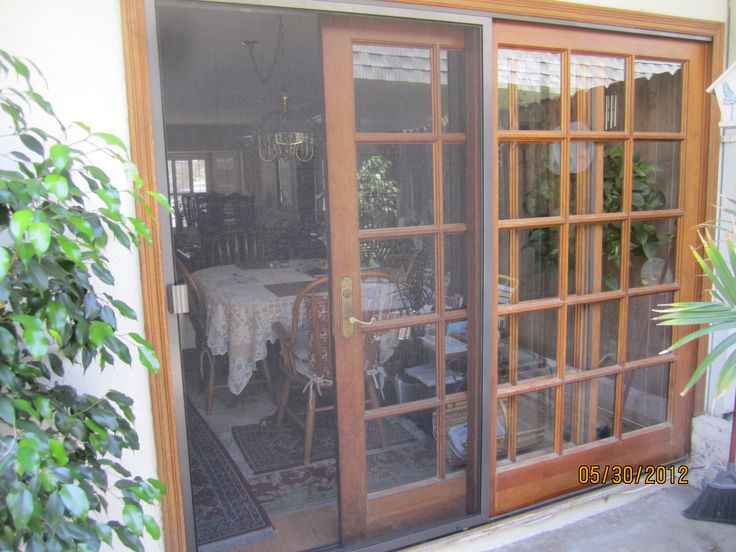 Patio Doors With Screens   Google Search