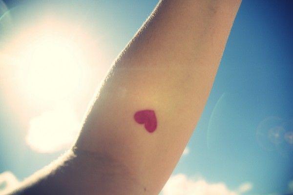 Heart on your sleeve