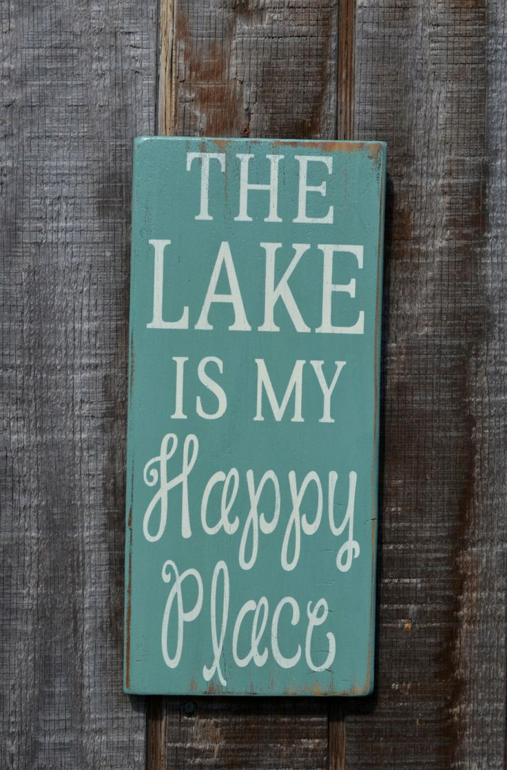 Lake+House+Decor++Lake+Sign++Lake+House+Wall+by+CarovaBeachCrafts,+$25.00