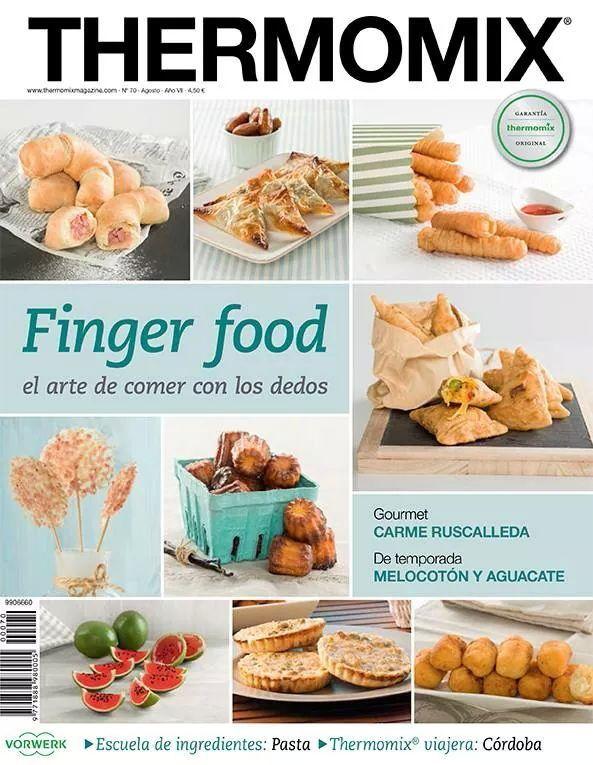 Comer con los dedos