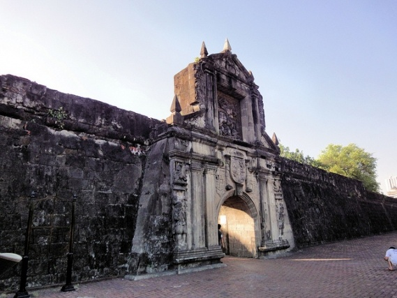 Fort Santiago and Intramuros, Philippines — Historic fortresses of the Philippines, built by Spanish conquistadors hundreds of years ago.