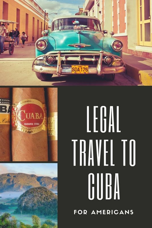 Cuba tourism is booming, and all American's can now legally travel to Cuba – with some limitations. Click pin through to post for more info.