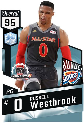 Russell Westbrook against the East on 2017 NBA All-Star Game (W) : 19 min, 41 pts,  7 ast, 5 rbs, 16-26 from the field, 7-13 from 3pt.