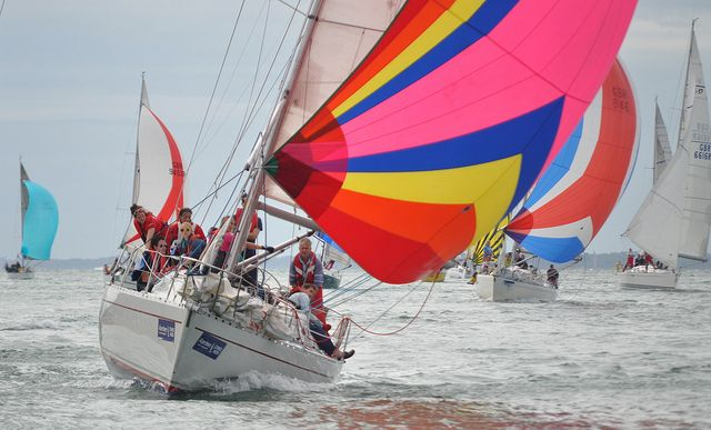 Views from the Cowes Week press boat - Day 2 | Flickr - Photo Sharing!