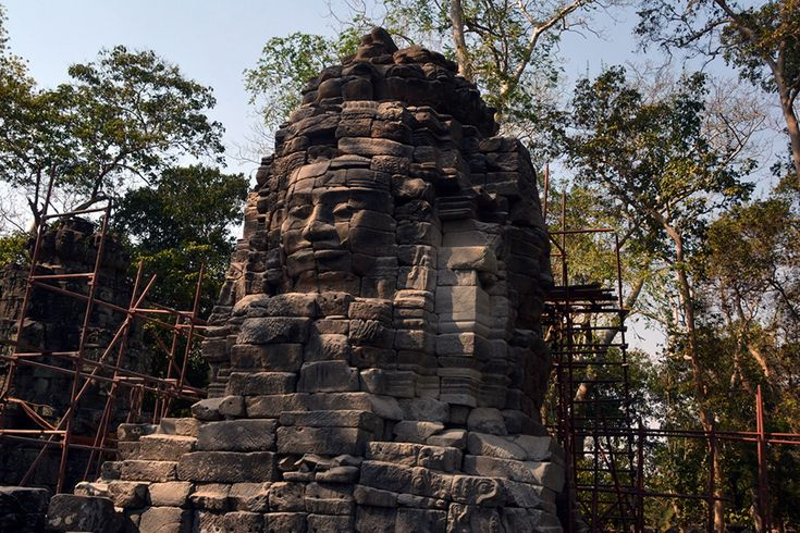 A temple at Banteay Chhmar, Cambodia