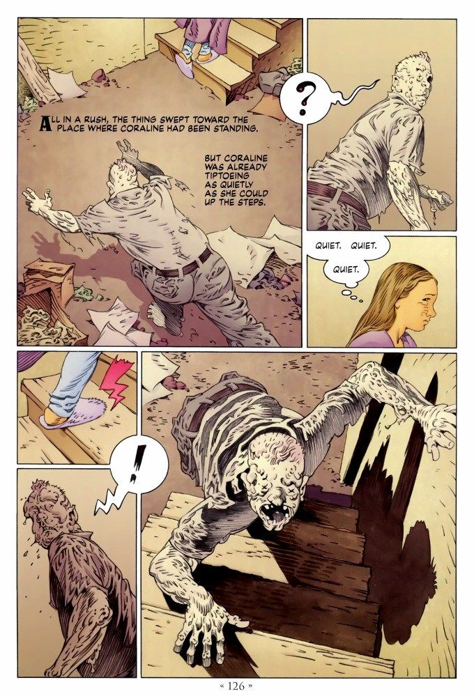 Page 126, Coraline graphic novel online