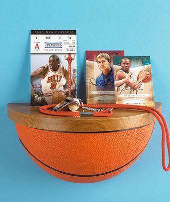 basketball shelf!