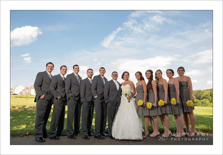 all grey bridal party...what if the grays arent the same??