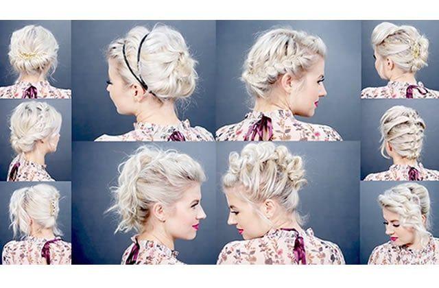 Pas besoin d'avoir les cheveux longs pour réussir des coiffures soignées ! Voici dix jolies façons d'attacher ses cheveux courts !