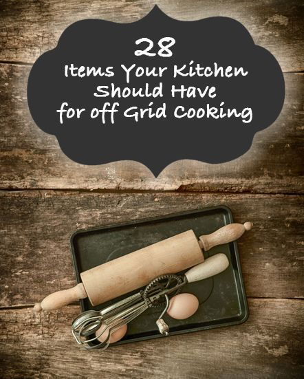 What you want and what you actually need are two different things, so when outfitting your camp or off-grid kitchen you have to prioritize. As we have stated in numerous articles in the past, instead of buying 12 tools for 12 tasks try to find one tool that can do …  Continue reading