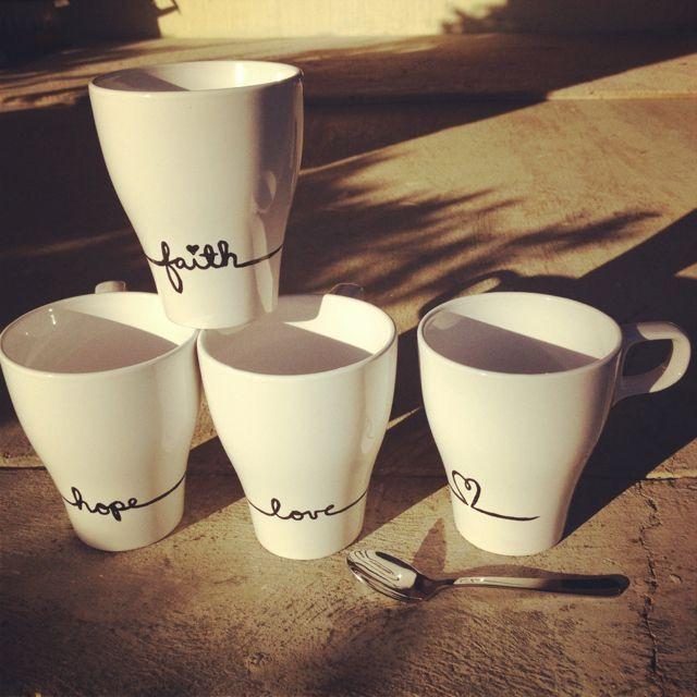 Hope Love Faith  Mug