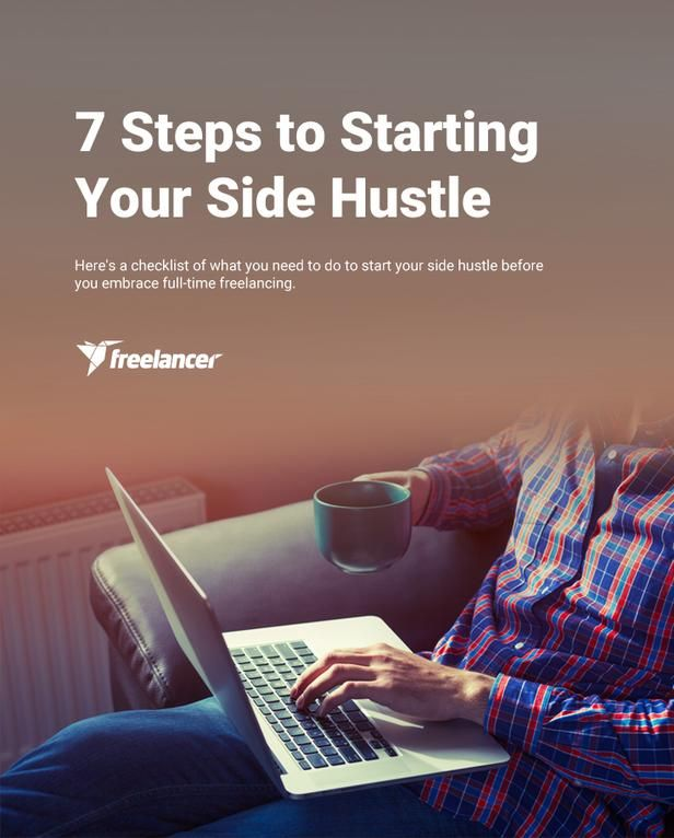 7 Steps to Starting Your Side Hustle. If you are thinking of starting your own business our freelancing career, you MUST read this!