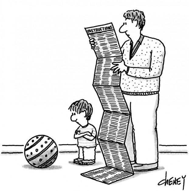 Istruzioni. La vignetta del New Yorker. http://intern.az/adi
