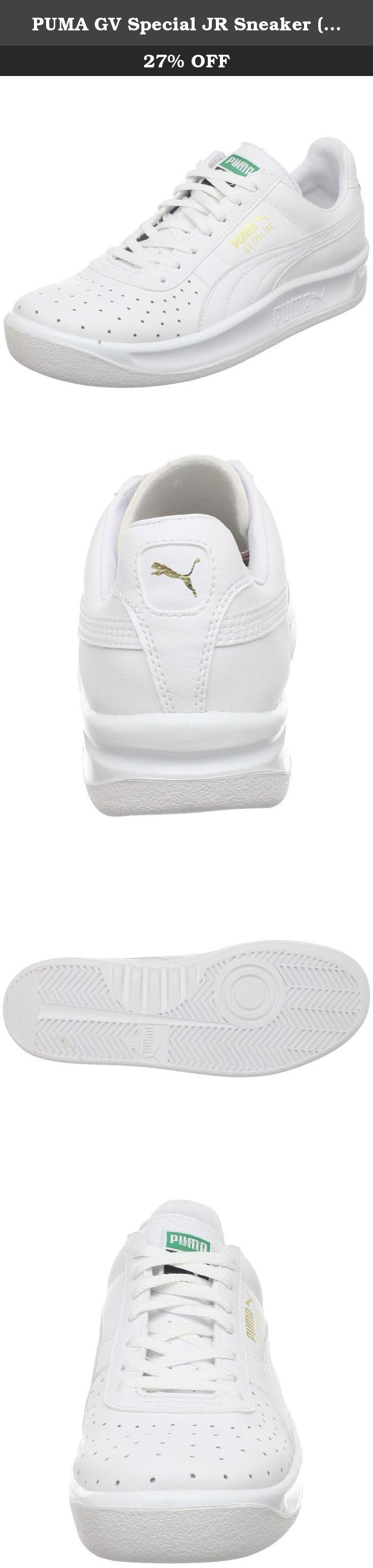 PUMA GV Special JR Sneaker (Little Kid/Big Kid), White/White, 13.5 M US Little Kid. Make sure your young one looks good and feels comfy with the shoes inspired by Argentine tennis legend Guillermo Vilas.