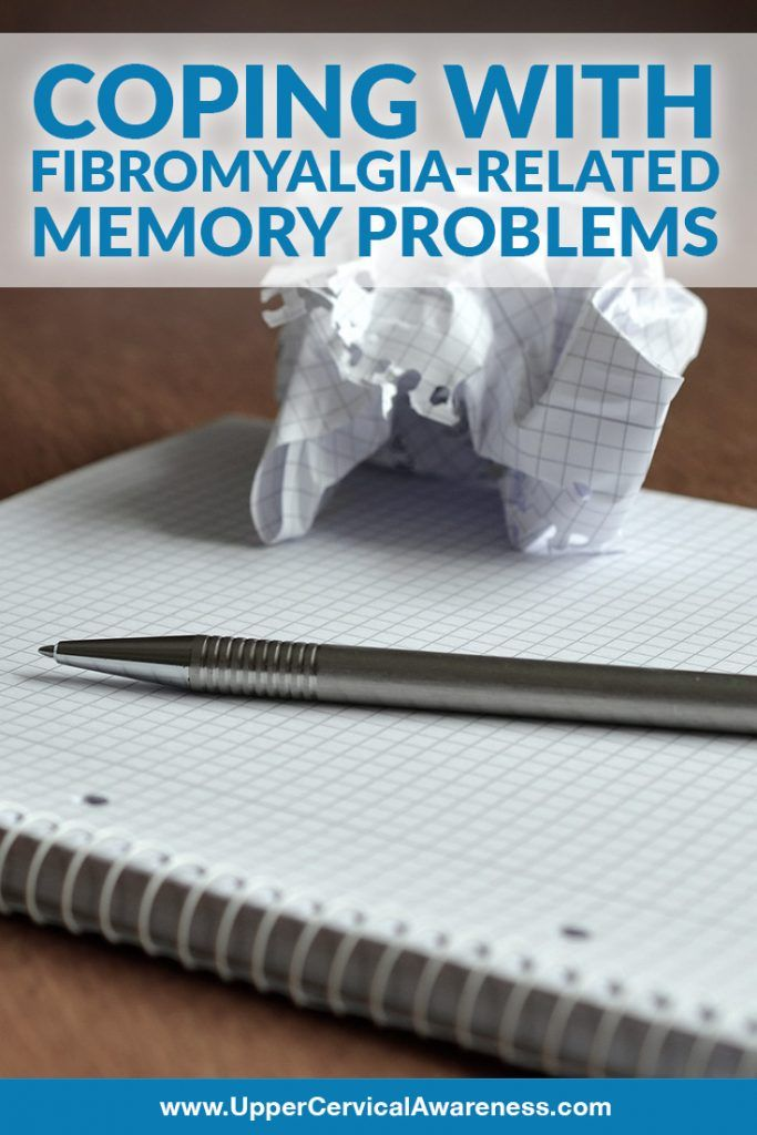 """Coping with Fibromyalgia-Related Memory Problems """"Most people who don't have fibromyalgia or know someone who does may think of it as a pain condition only. While the pain is certainly one of the most debilitating symptoms of fibromyalgia, it's not the only thing that can be tough to deal with."""" http://uppercervicalawareness.com/coping-fibromyalgia-related-memory-problems/?utm_content=buffere3172&utm_medium=social&utm_source=pinterest.com&utm_campaign=buffer #UpperCervicalAwareness…"""