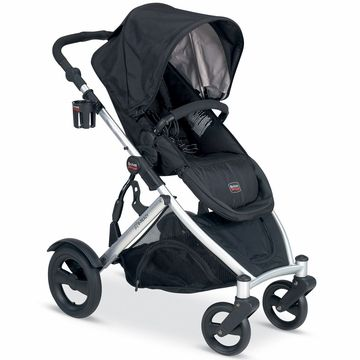 Britax B-Ready Stroller 2012 Black - love black, but will it be too hot?