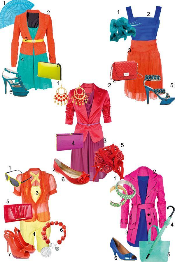 12-Styles: Colour Blocking Sommer 2011Je gewagter, desto besser! Der ganz große Trend des Sommers heißt Colour Blocking: Mutig und