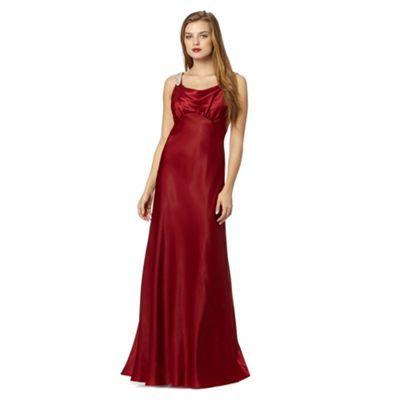 Dress at debenhams com alice you dark red sequin bodycon dress at