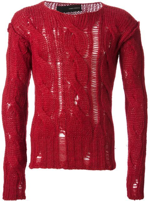 Shop Isabel Benenato cable knit sweater in from the world's best independent boutiques at farfetch.com. Shop 300 boutiques at one address.
