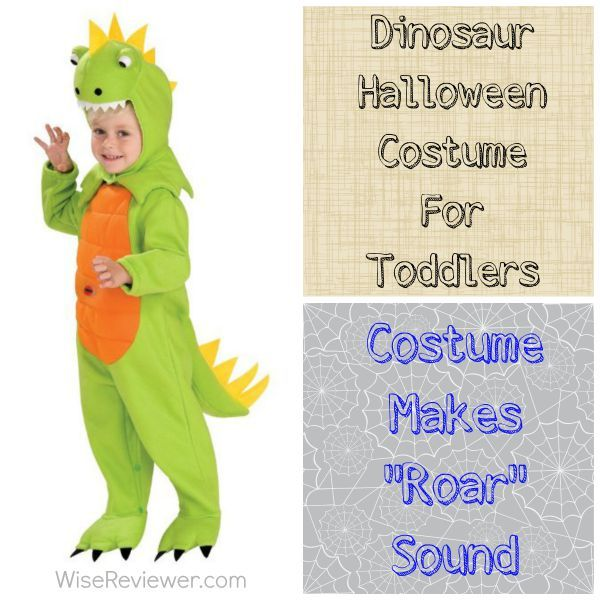 Go Roaring With the Dinosaur Halloween Costume For Toddlers