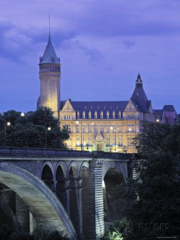 Pont Adolpe Luxembourg
