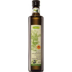 Ulei de masline sicilian Raw Bio extravirgin. Ambalare originala cu continut scazut de acizi grasi liberi. Ulei deosebit de fructuos si aromat. Magazin online cu alimente bio, ulei de masline extravirgin