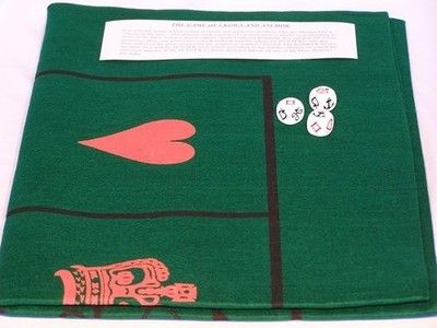 Crown & Anchor Mat & Dice 72""