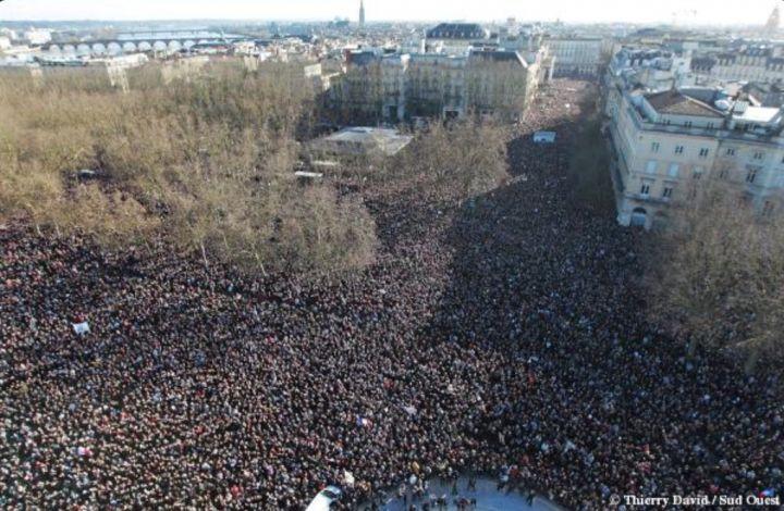 Rassemblement 11 janvier 2015 Bordeaux