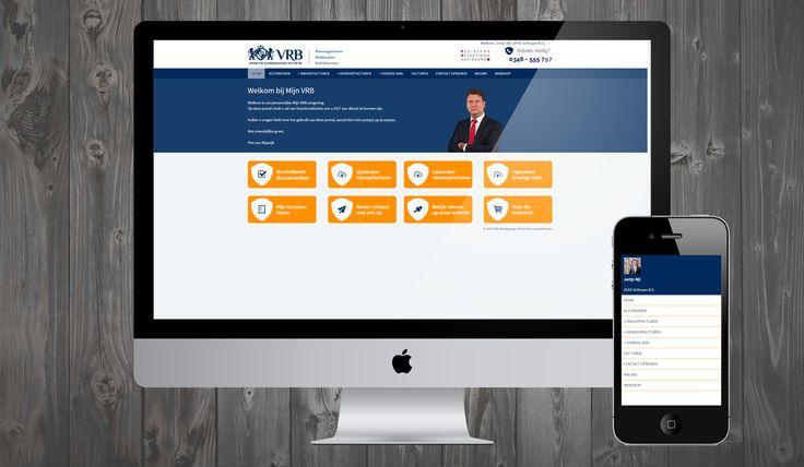 De VRB Adviesgroep is ook voorzien van een op maat gemaakte OutSite klantportal…
