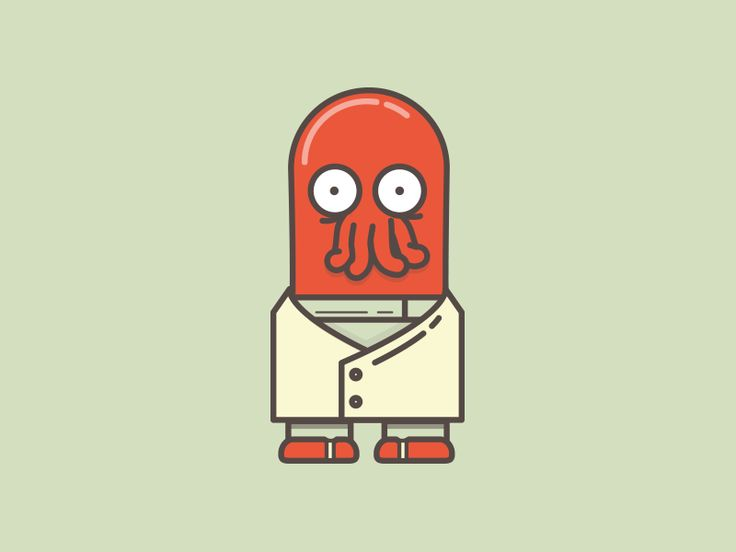 Zoidberg #icon! --- Can't think of an icon to draw? Why not Zoidberg? by Meg Robichaud