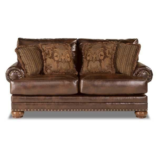 Color: BrownMaterial: Bonded LeatherCondition: New.  Measurements: Sofa 39