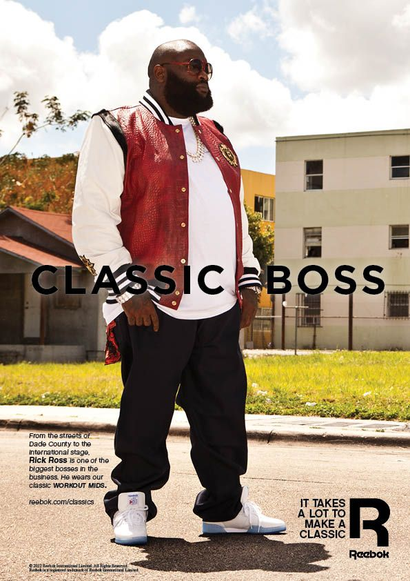 Women's Rights Group Targeting Reebok Over Rick Ross Date Rape Lyrics