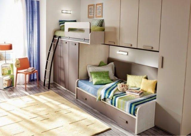 Dormitorios juveniles habitaciones infantiles y mueble - Mueble juvenil ikea ...