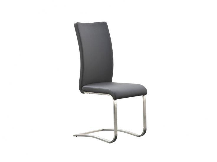 ARCO Stol Läder Grå i gruppen Inomhus / Stolar / Matstolar hos Furniturebox (100-58-76079)