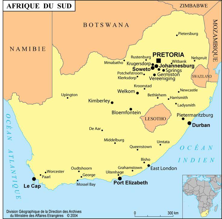 Afrique du Sud - France-Diplomatie - Ministère des Affaires ...