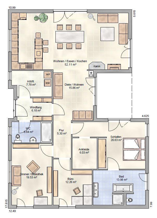 Bungalow Ohrdruf – Ohrdrufer Hausbau – OHB-Hausbau Group   – moderne Wohnkultur