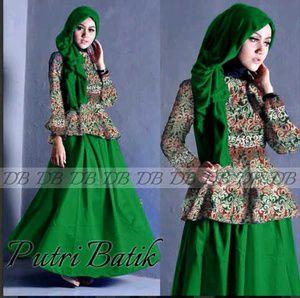Jual Baju Gamis Putri Hijau - http://tokogamismodern.com/jual-baju-gamis-putri-hijau/