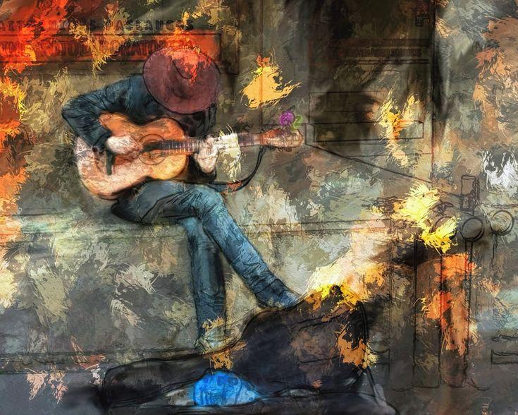 음악, 기타, 남자, 음악가, 음향, 기타리스트, 성능, 기계, 노래, 개요, 다채로운, 수행자