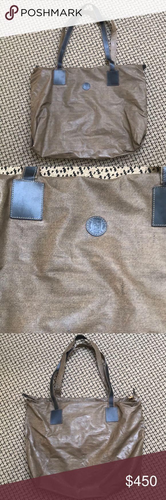 Fendi shoulder bag Fendi bag  No rips and working zipper  Great condition Fendi …