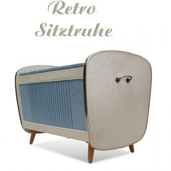 Vintage Hocker Wäschetruhe #truhe #wäschekiste #retro
