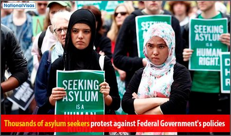 Walk for Justice for Refugees rally gathers Australians in major cities