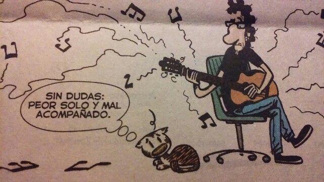 De la tira Genio y figura de Max Aguirre, en el diario Ls Nación