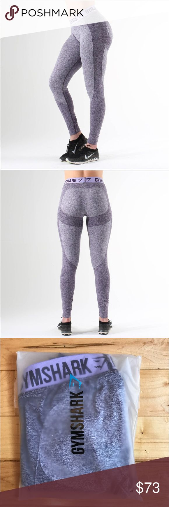 Gymshark Flex Legging - Lilac Gymshark Flex Legging NEW WITH TAGS!  Tried on once for a review video. The packaging did not have the size or barcode but the leggings have tags on them. This is 100% authentic and was purchased directly from Gymshark.  Size: SMALL  Color: Rich Purple Marl/Soft Lilac  Purchased for a review video and do not want to pay to return them!  NO TRADES. NO HOLDS. Smoke Free & Pet Free Home. . Buy before it sells out. Gymshark Pants Leggings