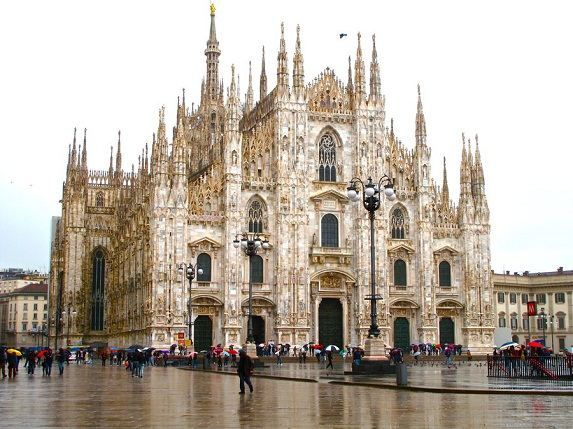 Milan Cathedral Largest Cathedral Church In Italy