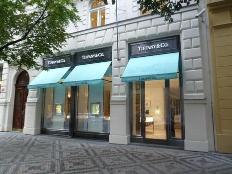 the First Tiffany & Co. in Eastern Europe has opened in Prague