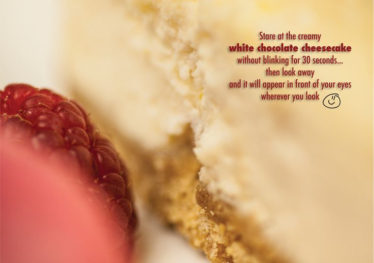 White Chocolate Cheesecake @ Blue Boar, Witney With fresh raspberries and Jude's raspberry sorbet