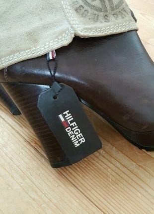 Kaufe meinen Artikel bei #Kleiderkreisel http://www.kleiderkreisel.de/damenschuhe/stiefel/130404500-hilfiger-denim-plateau-stiefel-gr-39-nur-einmal-getragen